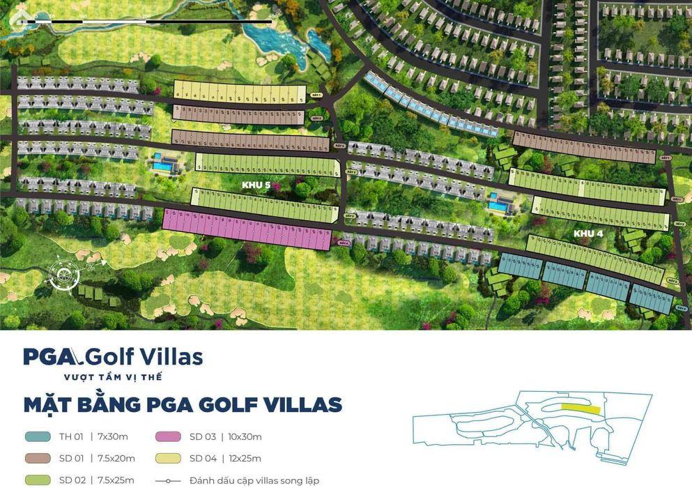 Mat Bang Biet Thu Pga Golf Novaworld Phan Thiet