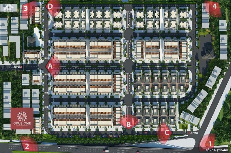 Biet Thu Opus One Uong Bi Mat Bang 1