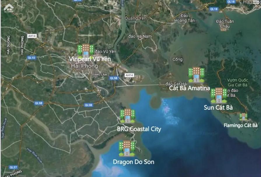 Dragon Ocean Do Son Hai Phong Vi Tri