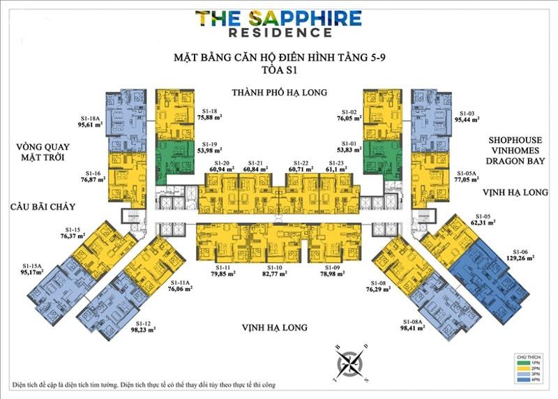 The Sapphire Residence Ha Long Mat Bang