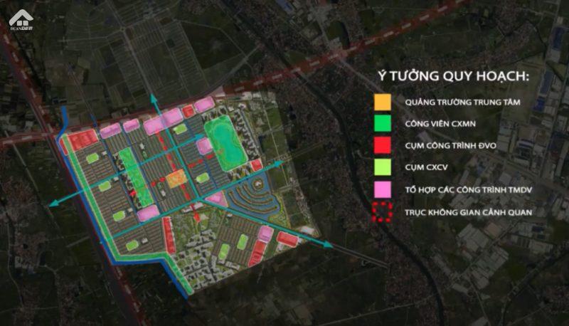 Vinhomes Dream City Y Tuong