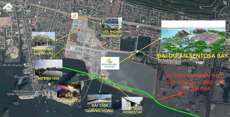 Sentosa Bay Cam Pha Vi Tri Du An