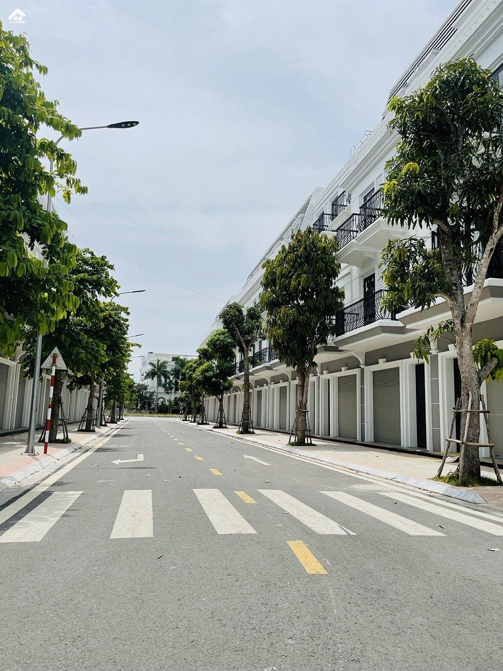 Hình ảnh thực tế SHophouse Vincom Thái Hòa Nghệ AN
