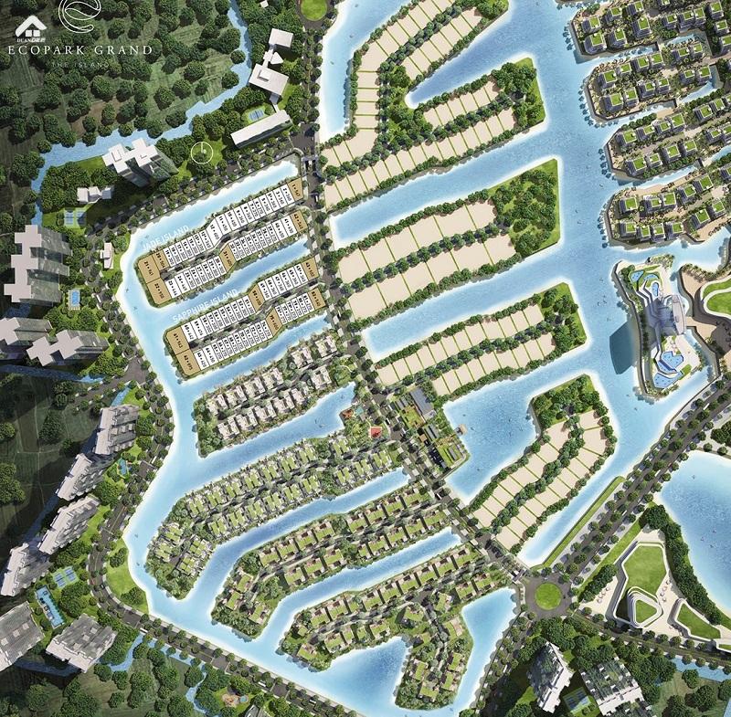 Quy Hoạch Biệt Thự Ecopark Sofitel Residences Villas
