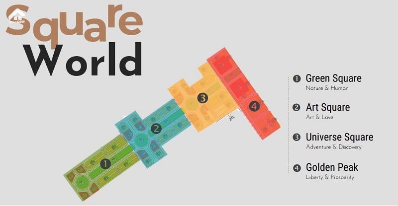 Mặt bằng FLC Square World