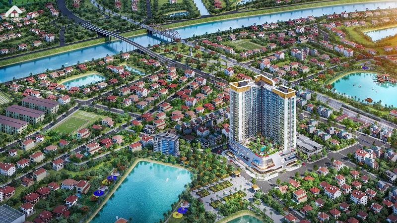 Phối Cảnh Dự Án Vinhomes Sky Park Bắc Giang