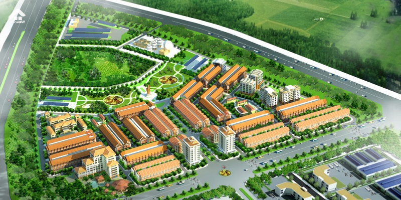 Phối Cảnh Dự Án Inoha City Phu Xuyen