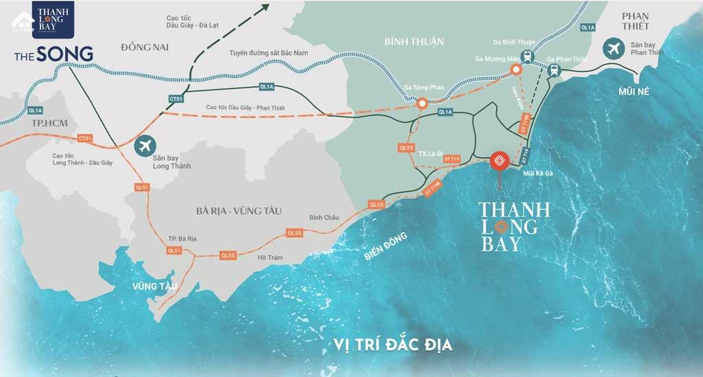 Vi Tri The Song Thanh Long Bay