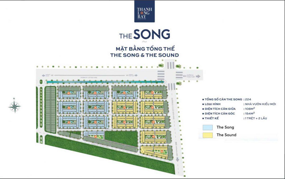 Mặt bằng The Song Thanh Long Bay Bình Thuận